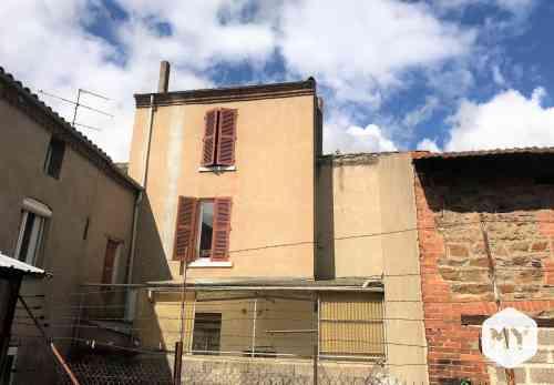 Maison 4 pièces 100 m2 à vendre Brassac-les-Mines 63570, 54 000 €