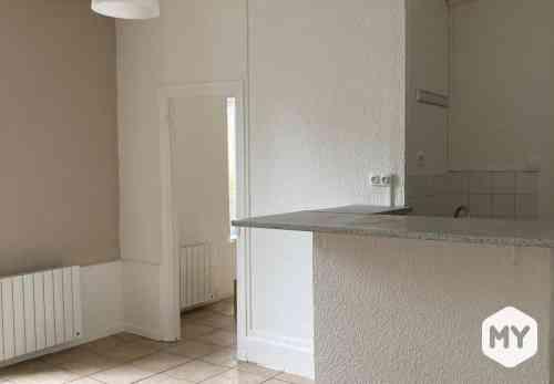 Appartement 2 pièces 37 m2 à louer Clermont-Ferrand 63000, 420 €/mois