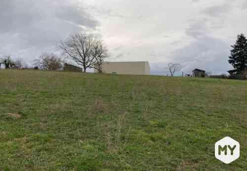 Terrain 2510 m2 à vendre Tours-sur-Meymont 63590, 29 000 €