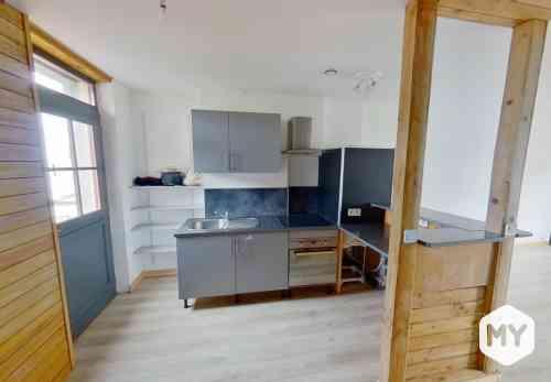 Appartement 3 pièces 48 m2 à louer Clermont-Ferrand 63000 Les Carmes, 630 €/mois