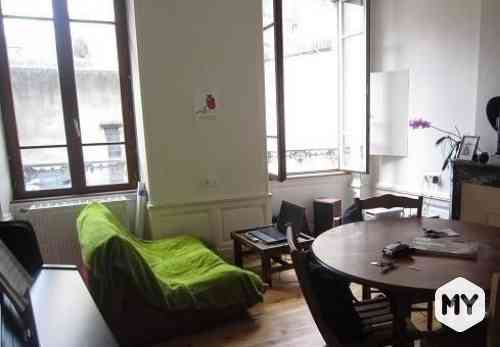 Appartement 2 pièces 37 m2 à louer Clermont-Ferrand 63000 Cathédrale, 392 €/mois