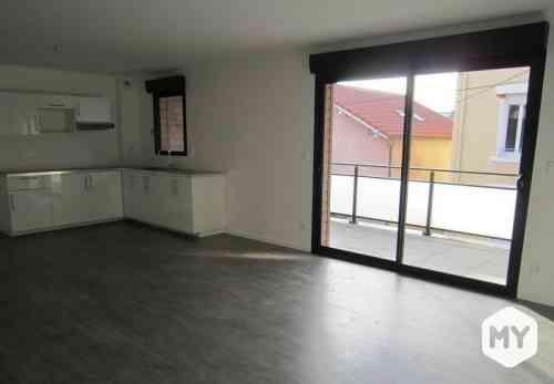 Appartement 3 pièces 75 m2 à louer Clermont-Ferrand 63000 La Gare, 780 €/mois