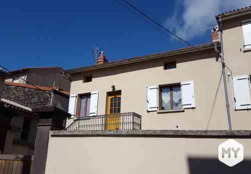 Appartement 3 pièces 78 m2 à louer Beaumont 63110, 650 €/mois