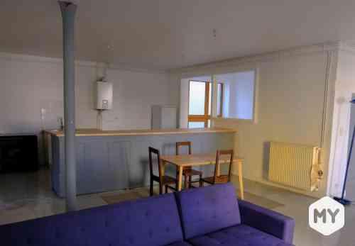 Appartement 3 pièces 111 m2 à louer Clermont-Ferrand 63000 Delille, 980 €/mois