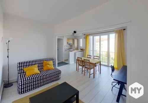 Appartement 2 pièces 47 m2 à louer Clermont-Ferrand 63000, 530 €/mois