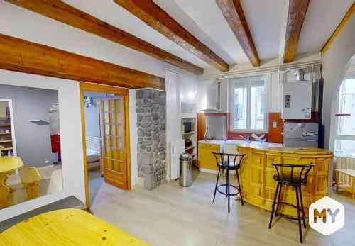 Appartement 2 pièces 49 m2 à louer Clermont-Ferrand 63000 Jaude, 630 €/mois
