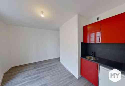 Appartement 1 pièce 11 m2 à louer Clermont-Ferrand 63000 JAUDE, 300 €/mois